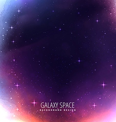 Universe space cosmos background vector