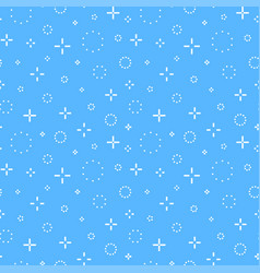 memphis seamless pattern fashion style 80-90s vector image