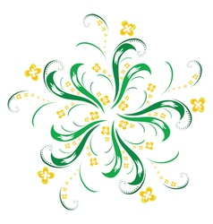 Ornamental flower vector