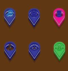 Computer icons isometric vector