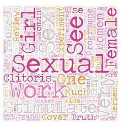 Did you see truth about female desire part text vector
