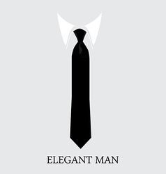 Elegant man background vector image vector image