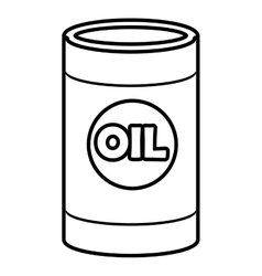 Isolated orbed container graphic vector