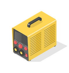 welding machine icon vector image vector image