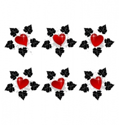 heart icon4 vector image
