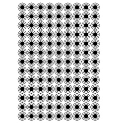 Octagon block pattern vector image