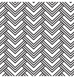 Striped geometric pattern vector