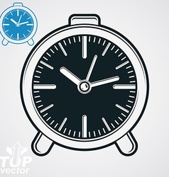 Elegant table clock simple version included eps 8 vector