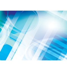 abstract light blue background with parallel lines vector image vector image