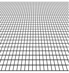 perspective grid view at an angle background vector image vector image
