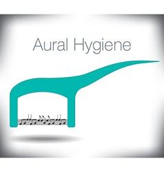 Aural hygiene vector