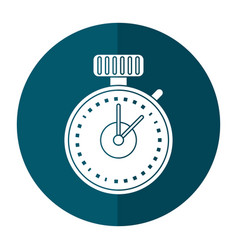 Chronometer time sport icon vector