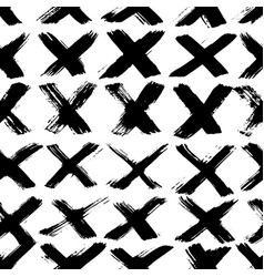 Ink abstract seamless pattern background with vector