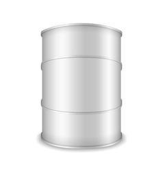 White barrel vector