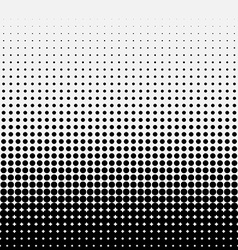 Circle halftone element monochrome abstract vector