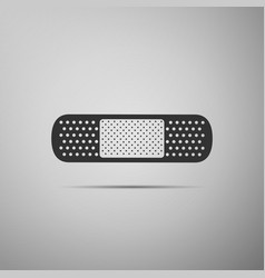 Medical bandage plaster icon isolated vector
