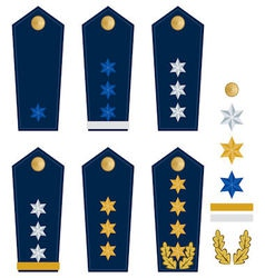 German police insignia vector