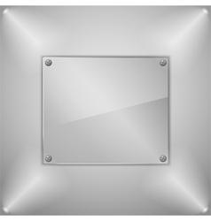 Glass board vector