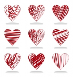 heart icon5 vector image