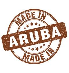 Made in aruba vector