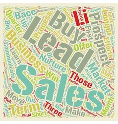 Sales leads maximize your sales from longer term vector