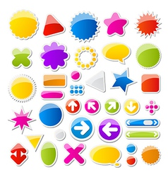 Shapes vector