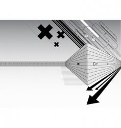 architectural design vector vector image