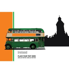 Ireland tour vector