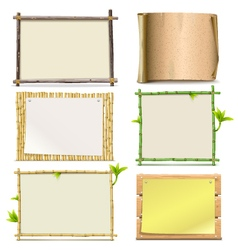 Boards vector image vector image