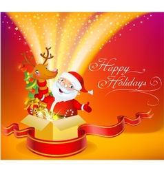 Christmas miracle vector image