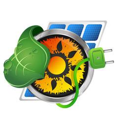 Alternative energy sources vector