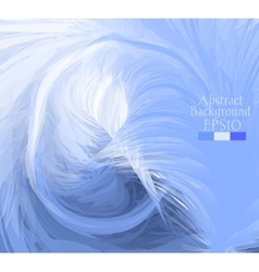 Macro feathers white blue dark blue vector