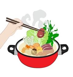 Sukiyaki vector