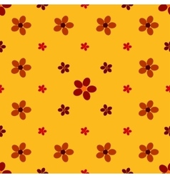 Vintage flower seamless pattern background vector