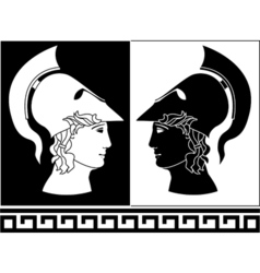 Alexander the great vector image