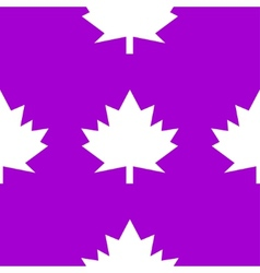 Maple leaf wb icon flat design seamless gray vector