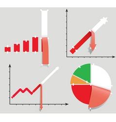 crisis allegory vector image