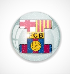 Football club barcelona vector