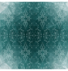beautiful turquoise background vector image vector image