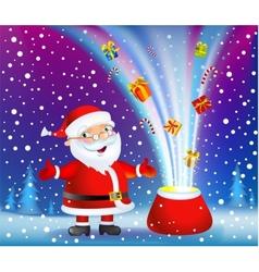 Christmas miracle vector image vector image