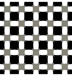 Square gray seamless pattern vector image vector image