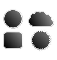 Board labels vector image