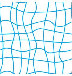 Blue seine seamless pattern vector