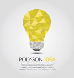 PolygonIdea vector image vector image