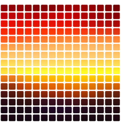 Purple orange yellow red brown rounded mosaic vector