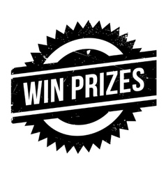 Win prizes stamp vector