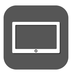 The tablet icon tablet symbol vector