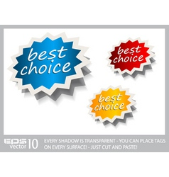 award stickers vector image vector image