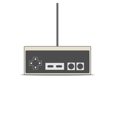 Gamepad flat vector image