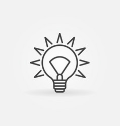 Idea concept icon vector